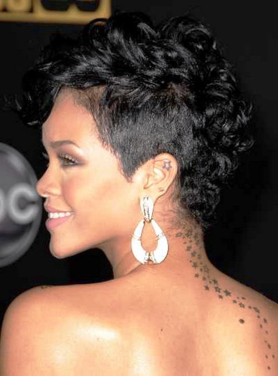 Pictures of African American Short Curly Hairstyles