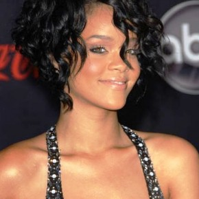 African American Short Curly Wedding Hairstyles