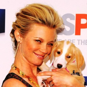 Amy Smart French Twist