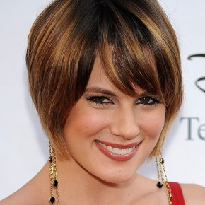Angled Bob Hairstyles Curly Hair
