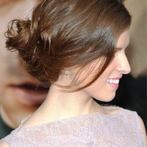 Anna Kendrick French Twist Updo Hairstyle