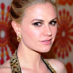 Anna Paquin Elegant Formal Updo Hairstyle