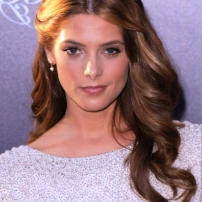 Ashley Greene Elegant Half Up Half Down Hairstyle