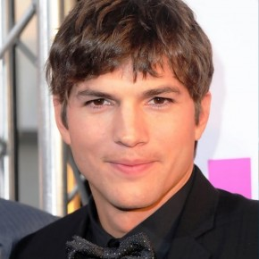 Ashton Kutcher Taper Haircut For Men