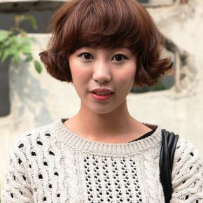 Asian Girls Hairstyle 2012