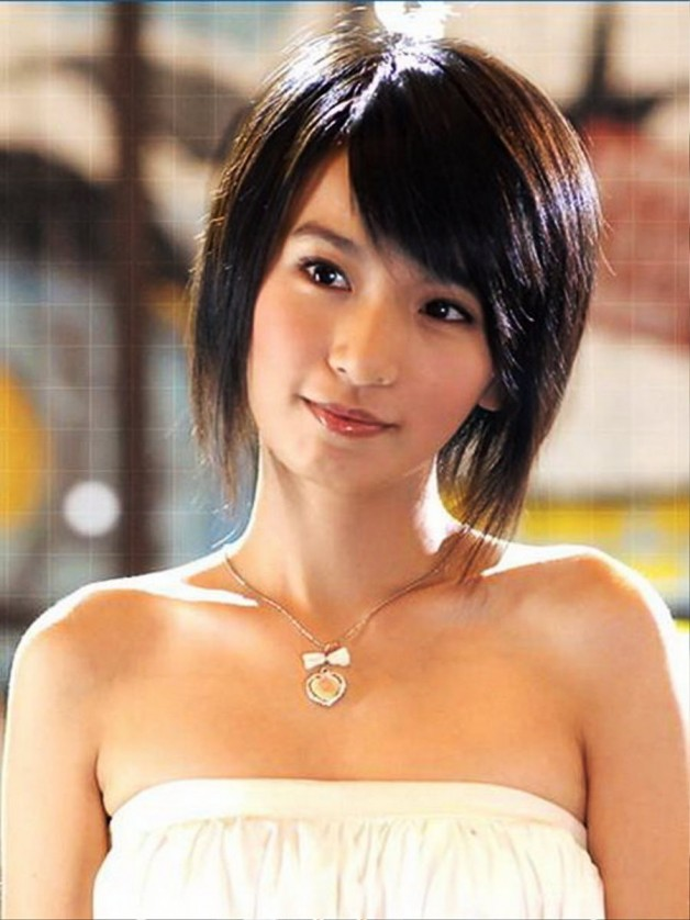 Asian Women Short Hairstyles 2013