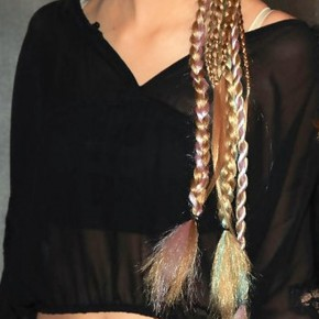 Ava Sambora Long Braided Hairstyle