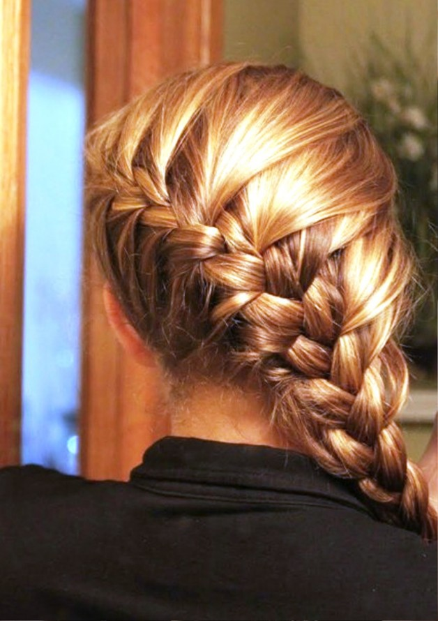 Back Of French Braid