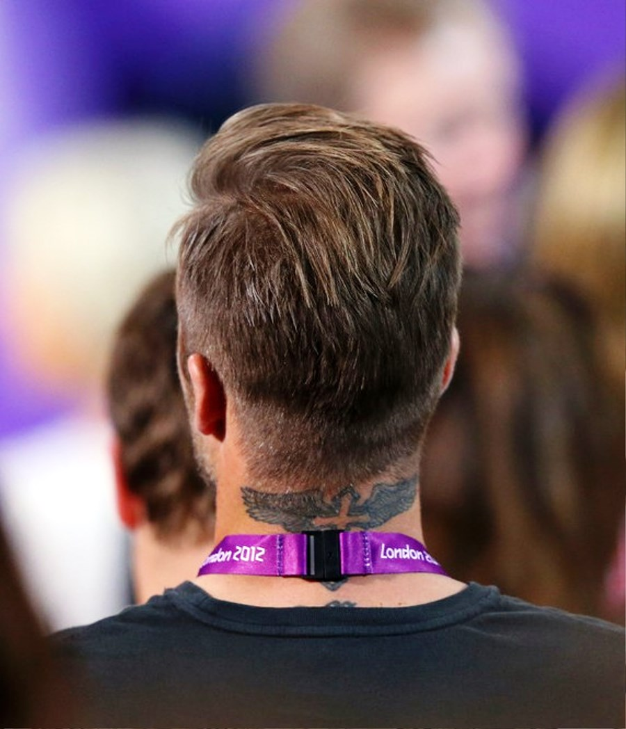 Pictures Of Back View Of David Beckham Hairstyles - Hairstyle beckham 2012