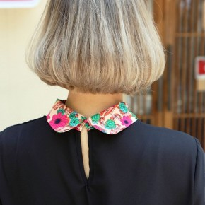 Back View Of Trendy Short Bob Cut