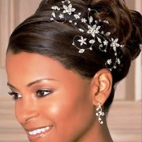 Beautiful African American Wedding Updo Hairstyles