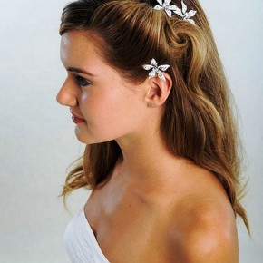 Beautiful Long Bridal Hairstyles 2013