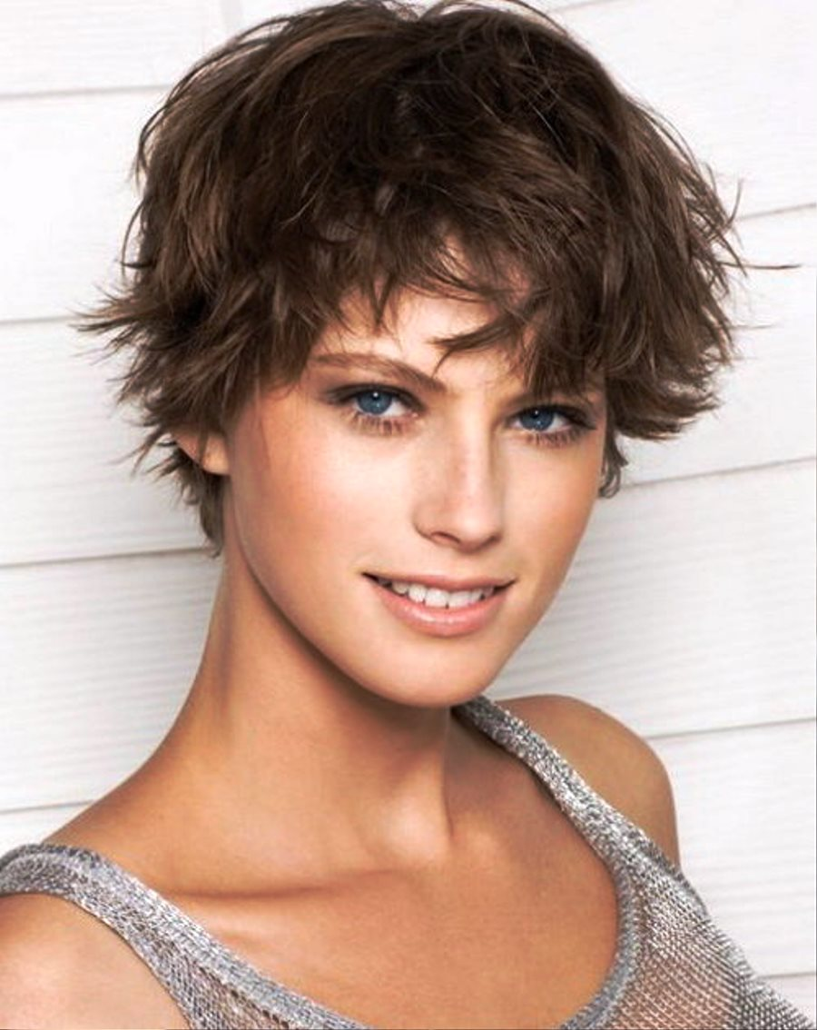 Pictures of Beautiful Messy Short Hairstyles