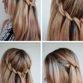 Beautiful Waterfall Twist Hairstyles