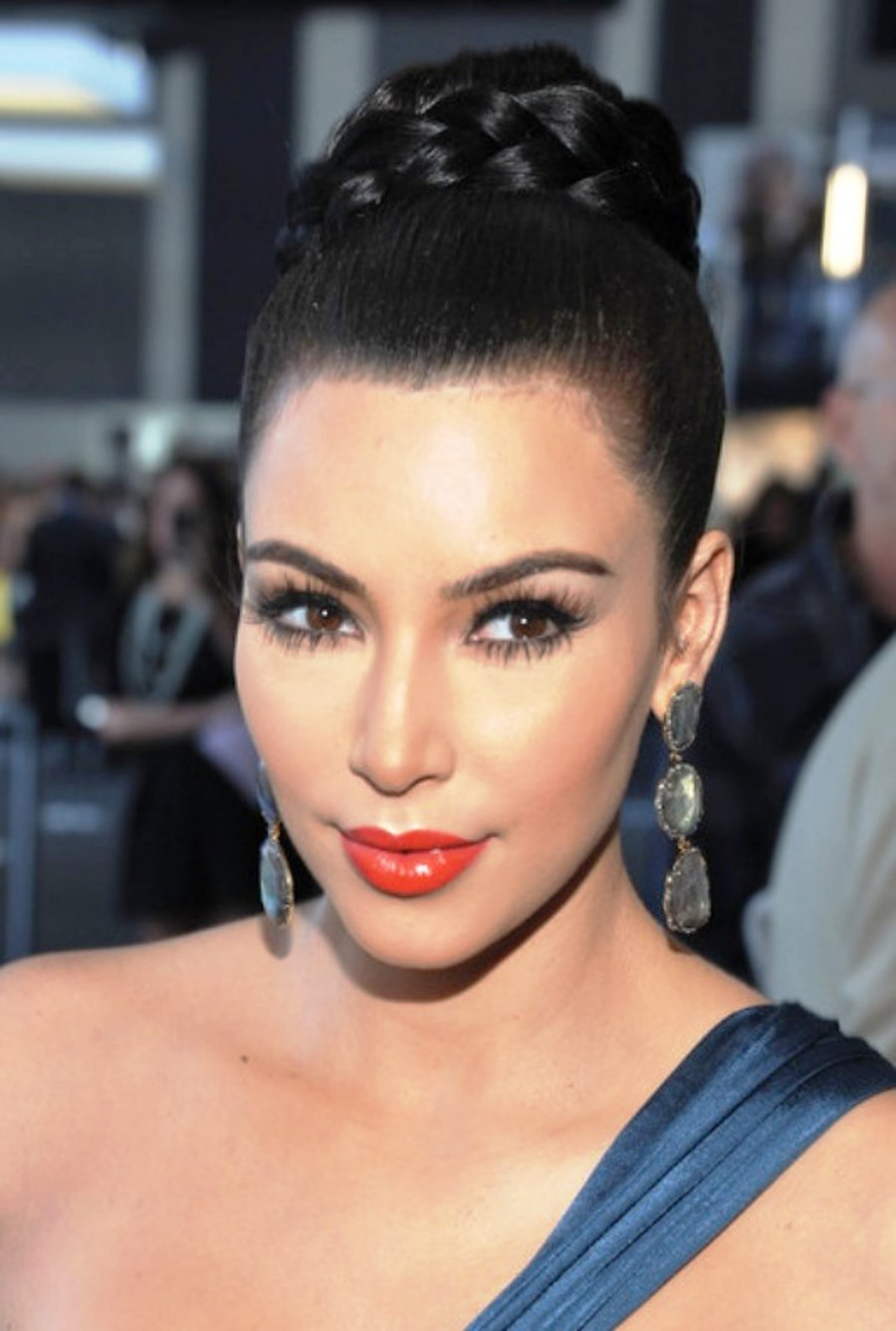 Black Braided Bun Hairstyles Pictures Of Black Braided Bun Hairstyle