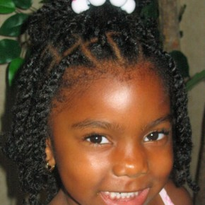 Black Children Hairstyles for Weddings