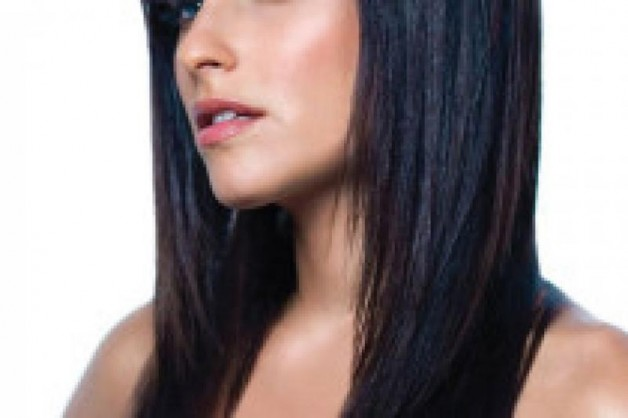 Black Hairstyles For Long Hair with Bangs 210x140