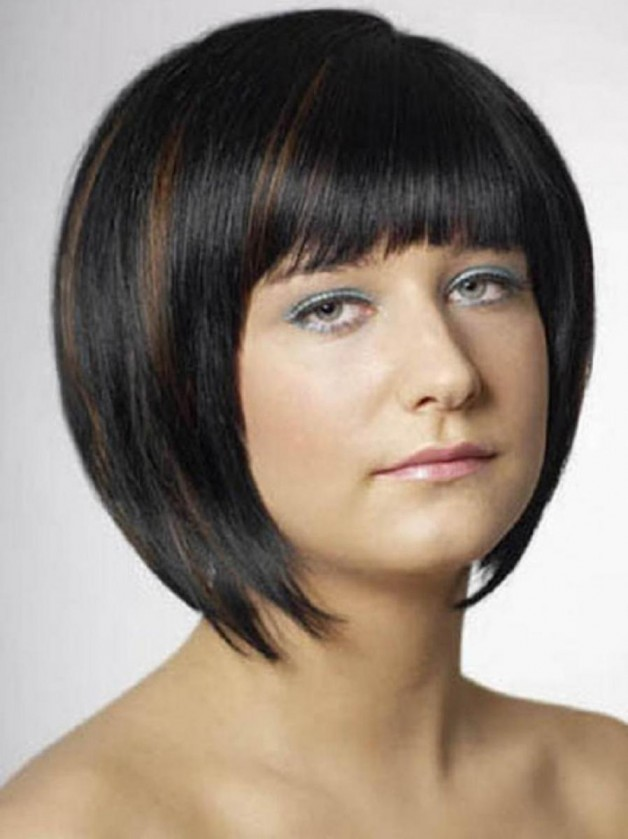 Black Hairstyles with Bangs for Short Hair
