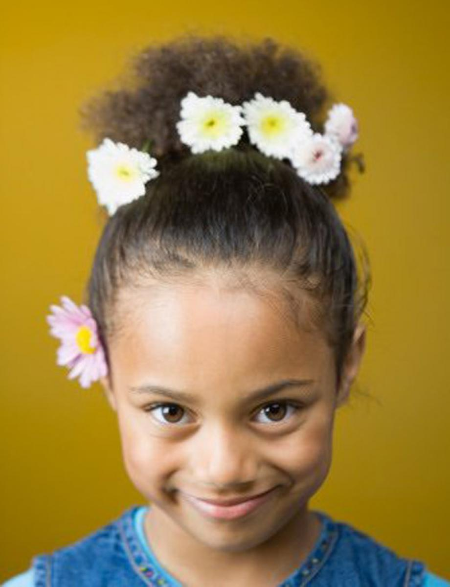 Pictures Of Black Kids Hairstyles For Weddings