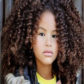 Black Kids Hairstyles with Curls