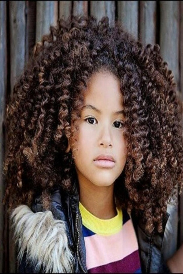 Outstanding Black Kids Hairstyles With Curls Behairstyles Com Hairstyles For Women Draintrainus