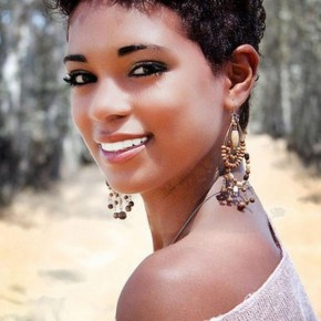 Black Short Curly Hairstyles for Black Women