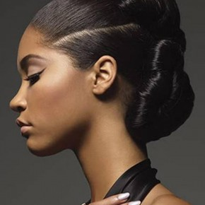 Black Updo Hairstyles 2013