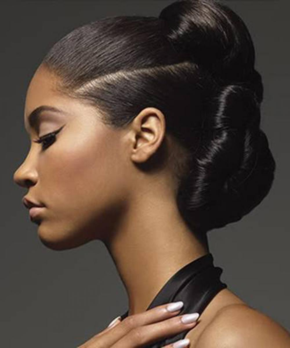 Pictures Of Black Updo Hairstyles 2013