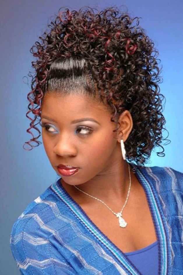 Black Wedding Hairstyles with Weave