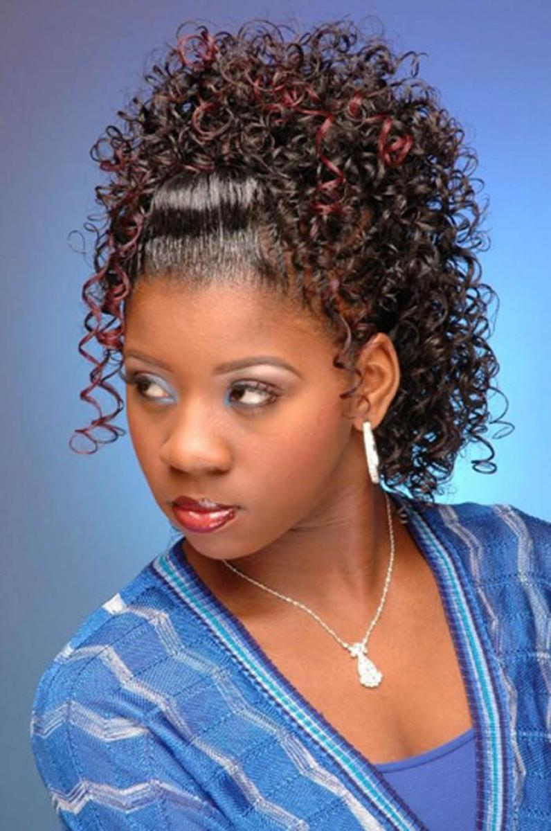 Black Wedding Hairstyles With Weave Pictures