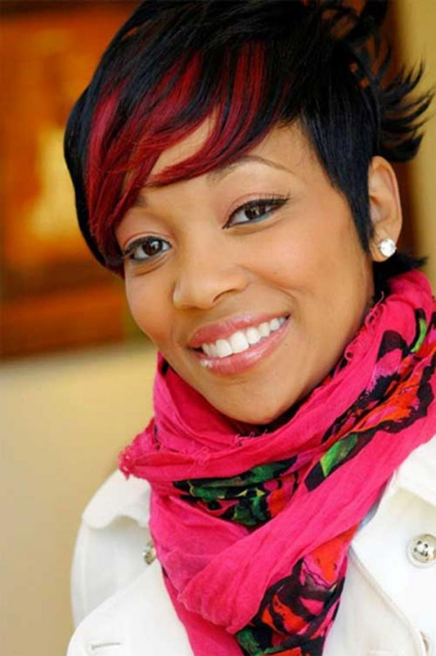 Black Women Hairstyles with Color