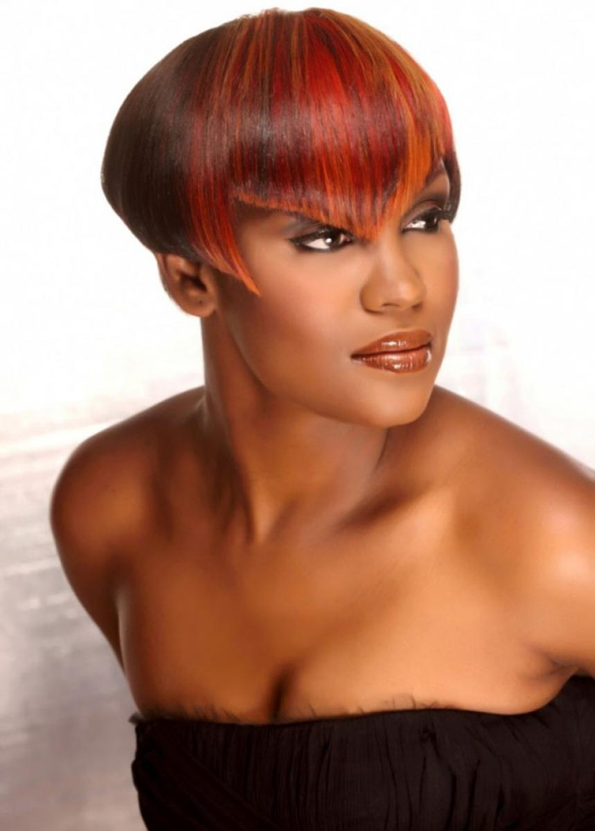 Tremendous Pictures Of Black Women Short Hairstyles For Oval Face Short Hairstyles Gunalazisus