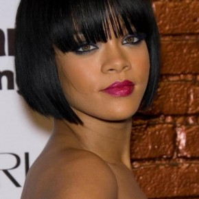 Black Women Short Hairstyles with Bangs