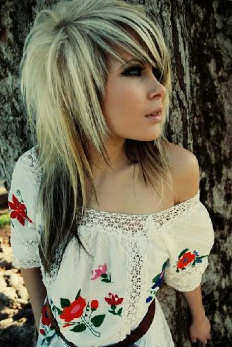 Black and Blonde Hairstyles for Girls