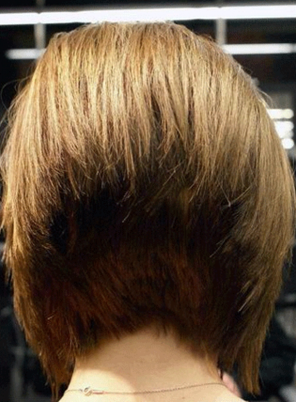 Bob Hairstyles Back And Front Views Behairstylescom - Bob hairstyle pictures front and back