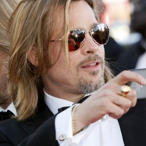 Brad Pitt Layered Hairstyles