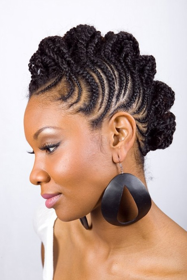 Admirable African American Braid Hairstyles 2013 Behairstyles Com Hairstyle Inspiration Daily Dogsangcom