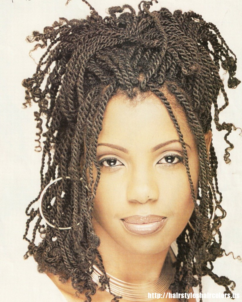 Braided Hairstyles Black Women Over