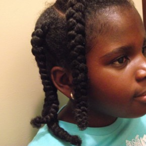 Braided Hairstyles For Girls With Natural Hair