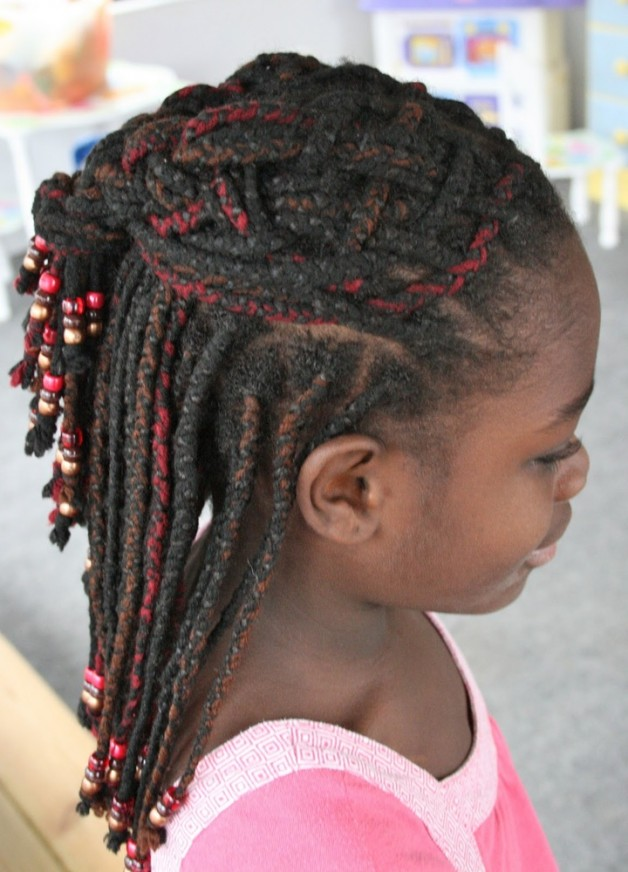 Swell Braided Hairstyles For Kids With Weave Behairstyles Com Hairstyles For Women Draintrainus