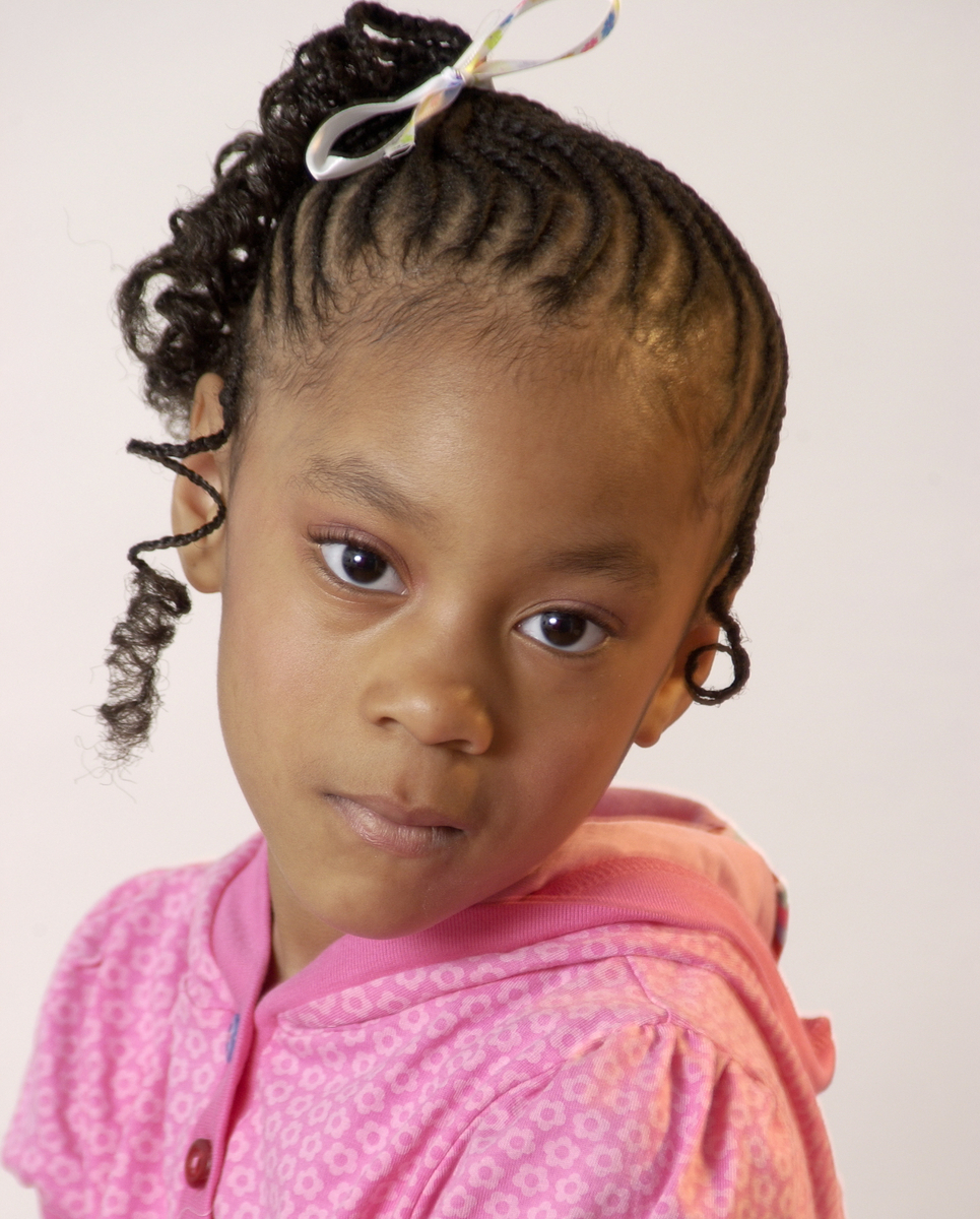 Pictures of Braided Hairstyles For Little Black Girls