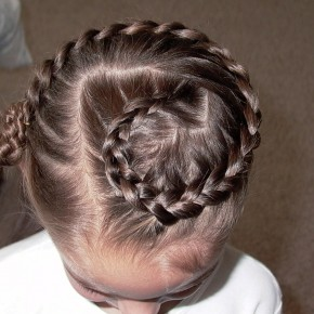 Braided Hairstyles For Little Girls With Beads