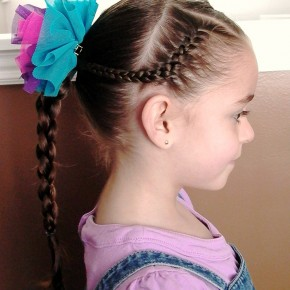 Braided Hairstyles For Little Girls With Long Hair