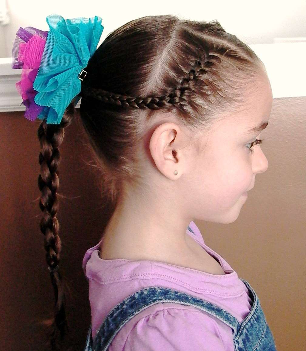 Braided Hairstyles For Little Girls With Long Hair Pictures