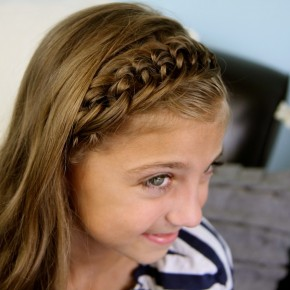 Braided Hairstyles For Little Girls With Short Hair