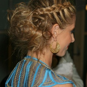 Braided Hairstyles For Long Hair With Bangs