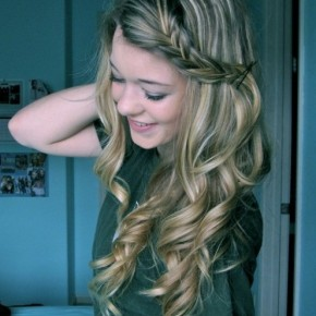 Braided Hairstyles For Long Hair With Curls