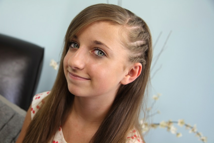 Pleasant Pictures Of Braided Hairstyles For Short Hair For Kids Short Hairstyles Gunalazisus