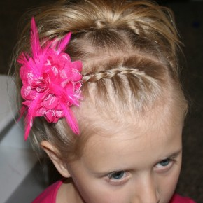 Braided Hairstyles For Short Hair Little Girls