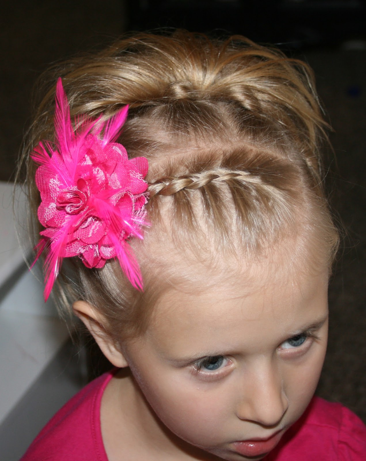 Pictures of Braided Hairstyles For Short Hair Little Girls